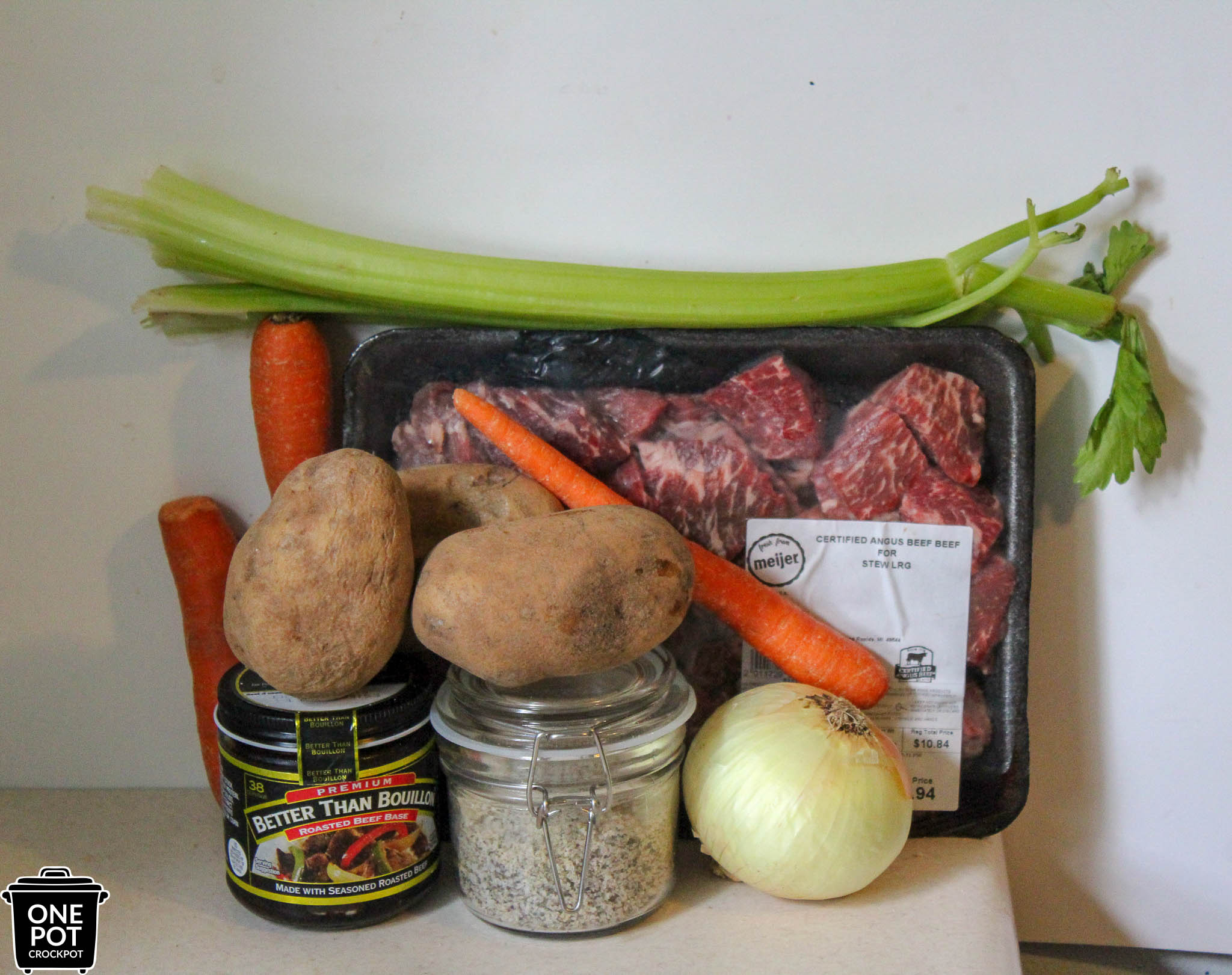 ingredients for stew