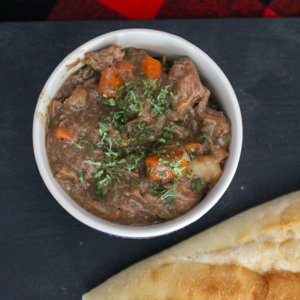 Comforting Hearty Slow Cooker Beef Stew Recipe