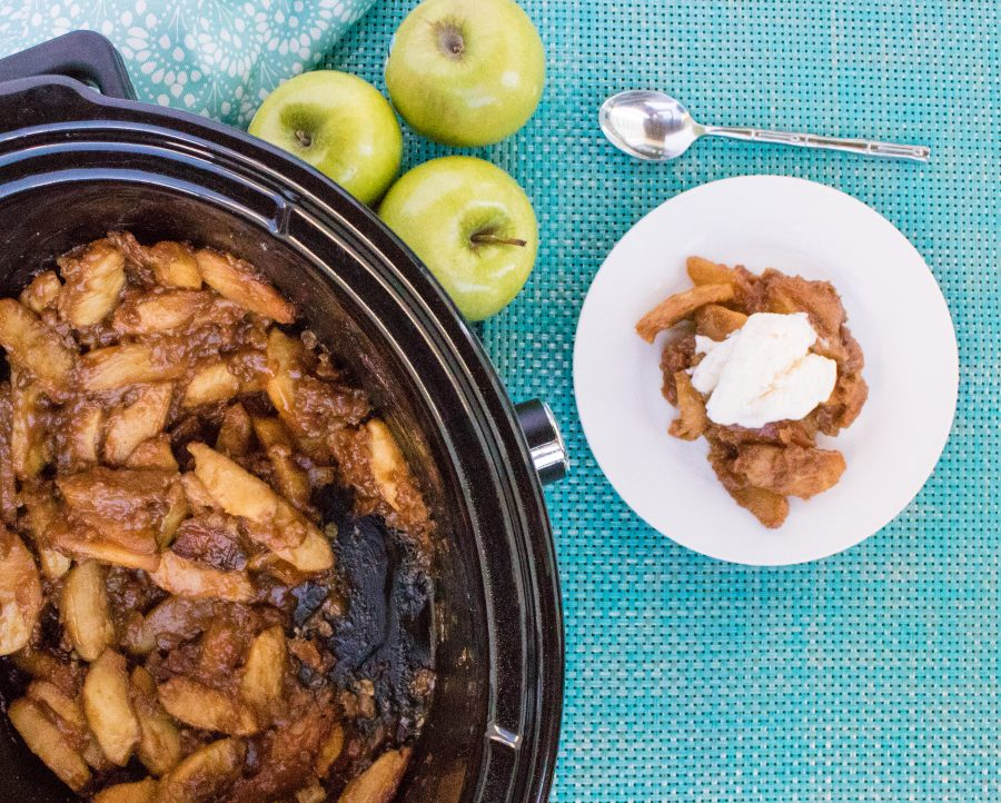 Yummy Slow Cooker Apple Crisp Recipe
