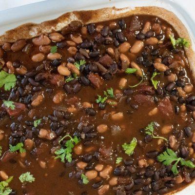 Slow Cooker Vegetarian Black Bean Chili
