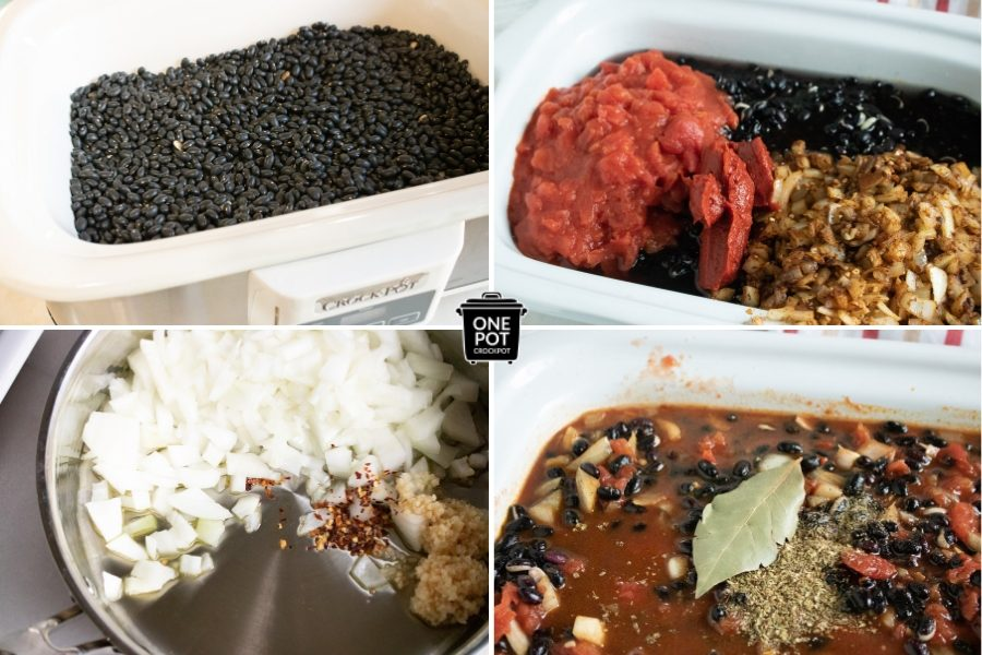 Black Bean Chili in the Slow Cooker #SlowCookerRecipe #SlowCookerChili #BlackBeanChili #SlowCookingClub