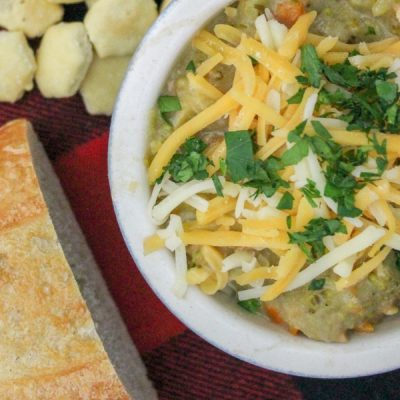 Slow Cooker Chicken and Broccoli Soup
