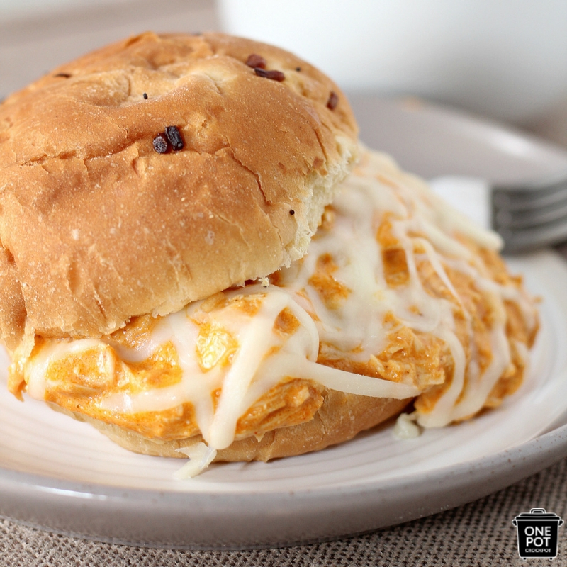 Perfect Game Day Creamy Buffalo Ranch Shredded Chicken Recipe