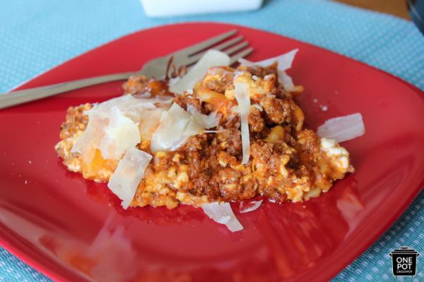 simple lasagna recipe