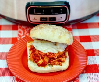crockpot Chicken Parmesan Sandwiches