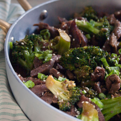 Slow Cooker Broccoli and Beef