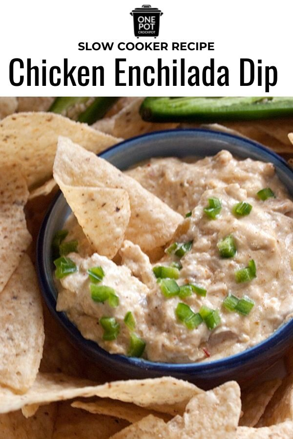 crock pot chicken enchilada dip
