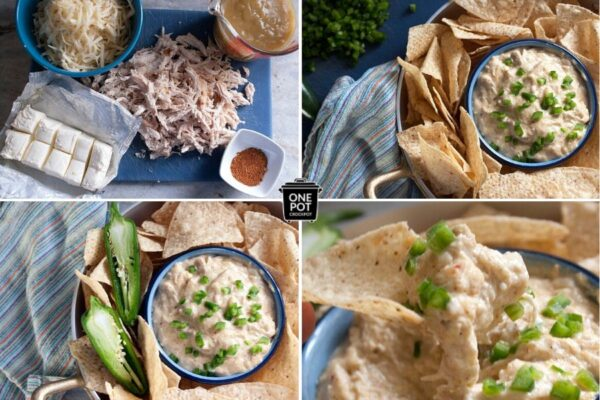 how to make slow cooker chicken dip