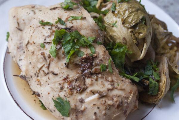 Slow Cooker Balsamic Chicken recipe