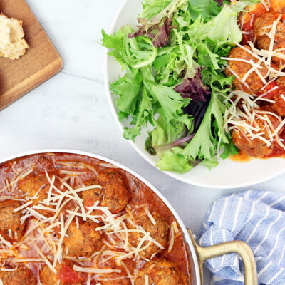 Crockpot Meatballs With Marinara Sauce