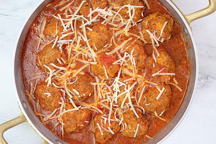 Crockpot Meatballs With Marinara Sauce